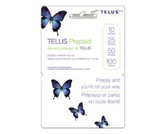 Image du produit Incomm - Cartes prépayées pour cellulaires TELUS 10 $
