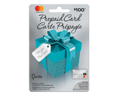 Image du produit Incomm - Vanilla MasterCard Prépayée de 100 $, 1 unité