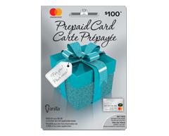 Image du produit Incomm - Vanilla® MasterCard® Prépayée de 100 $