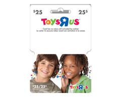 """Image du produit Incomm - Carte-cadeau Toys""""R""""Us de 25$"""