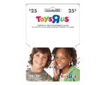 "Carte-cadeau Toys""R""Us de 25$"