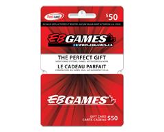 Image du produit Incomm - Carte-cadeau EB Games de 50 $