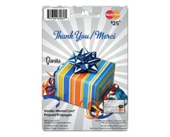 Image du produit Incomm - Vanilla MasterCard Merci prépayée de 25 $, 1 unité