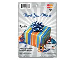 Image du produit Incomm - Vanilla MasterCard Prépayée de 25 $, 1 unité