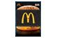 Vignette du produit Incomm - Carte-cadeau McDonald's de 25 $, 1 unité
