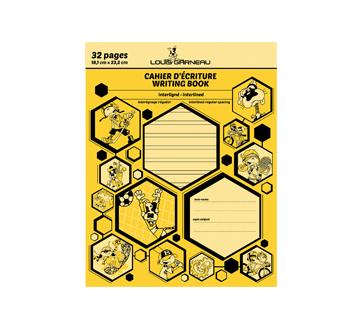 Petit cahier d'exercices, 1 unité, jaune