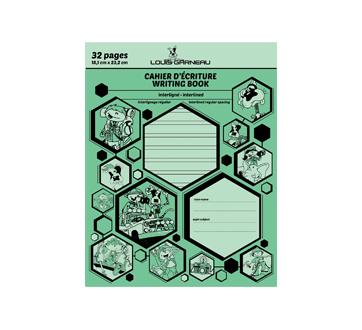 Petit cahier d'exercices, 1 unité, vert