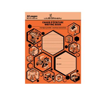Petit cahier d'exercices, 1 unité, orange