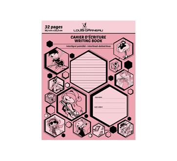 Petit cahier d'exercices, 1 unité, rose