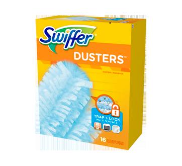 Dusters recharges plumeaux jetables non parfumés, 16 unités
