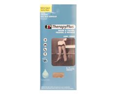 Image du produit Therapy Plus - Bas aux genoux soutien moyen, 1 paire, 9-11 beige