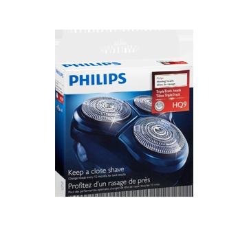 Image 2 du produit Philips - Ensemble de têtes de rasage HQ9/52, 1 unité
