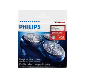Image 3 du produit Philips - Ensemble de têtes de rasage HQ9/52