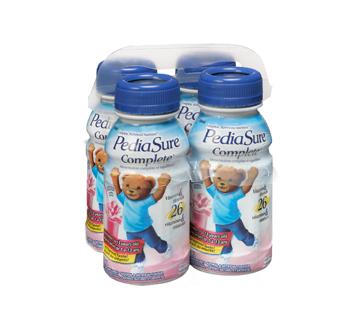 Image 2 du produit PediaSure - Pediasure Complete supplément nutrionnel, 4 x 235 ml, fraise