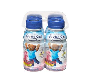 Image 3 du produit PediaSure - Pediasure Complete supplément nutrionnel, 4 x 235 ml, fraise