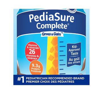 Image 1 du produit PediaSure - Pediasure Complete supplément nutrionnel, 4 x 235 ml, chocolat