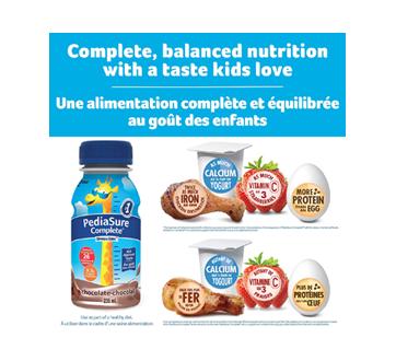 Image 2 du produit PediaSure - Pediasure Complete supplément nutrionnel, 4 x 235 ml, chocolat