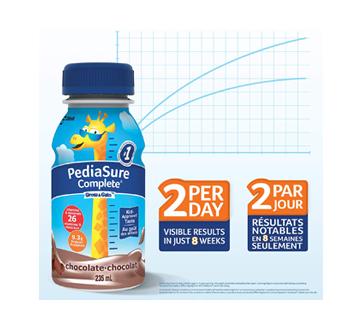 Image 3 du produit PediaSure - Pediasure Complete supplément nutrionnel, 4 x 235 ml, chocolat
