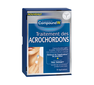 Image du produit Compound W - Compound W acrochordons, 8 unités
