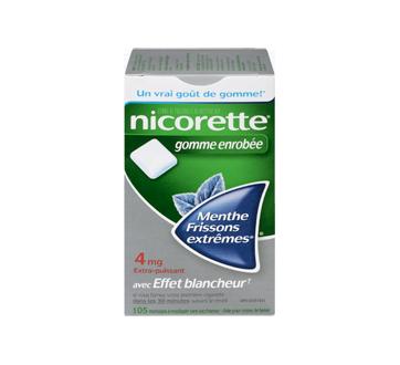 Image 1 du produit Nicorette - Nicorette gomme, 105 unités, 4 mg, frissons extrêmes