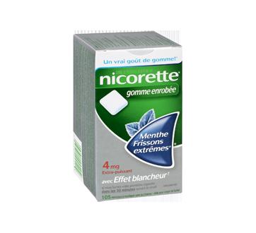 Image 2 du produit Nicorette - Nicorette gomme, 105 unités, 4 mg, frissons extrêmes