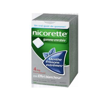Image 3 du produit Nicorette - Nicorette gomme, 105 unités, 4 mg, frissons extrêmes