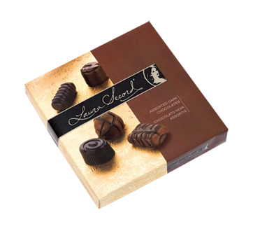Assortiment de chocolats miniatures, 186 g