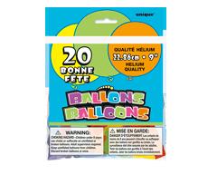Image du produit Unique - Ballons bonne fête 9 pouces, 20 unités