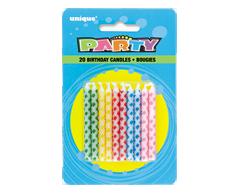 Image du produit Unique - Bougies avec diamants, 20 unités