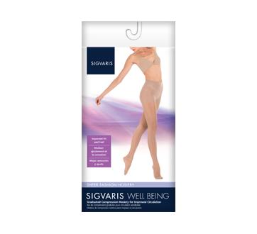 Image du produit Sigvaris - Sheer Fashion pour femmes 120, Collant, taille E, noir