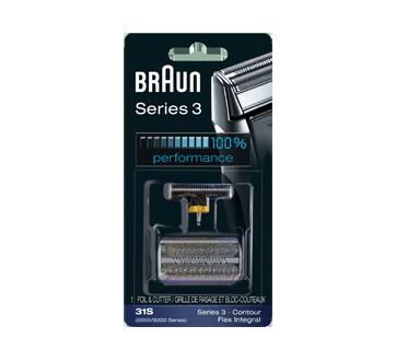 Series 3 grille de rasage & bloc-couteaux 31S, 1 unité