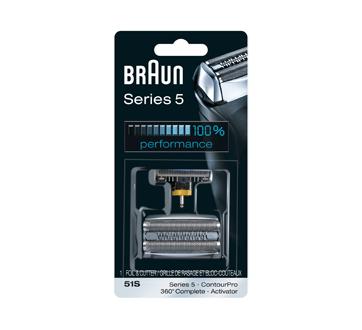 Series 5 grille de rasage & bloc-couteaux 51S, 1 unité