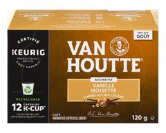 Image du produit Van Houtte - K-Cup capsules de café aromatisé, 12 unités, vanille noisette brun