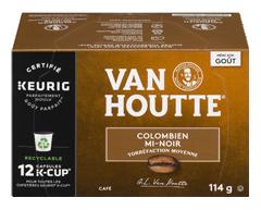 Image du produit Van Houtte - K-Cup capsules de café colombien, 12 unités, mi-noir
