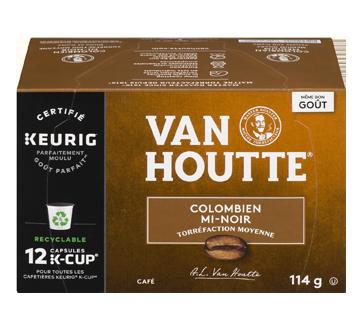 K-Cup capsules de café colombien, 12 unités, mi-noir
