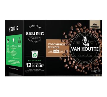 Image 2 du produit Van Houtte - K-Cup capsules de café colombien, 12 unités, mi-noir