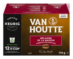 Image du produit Van Houtte - K-Cup capsules de café mélange de la maison, 12 unités, mi-noir