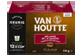 Vignette du produit Van Houtte - K-Cup capsules de café mélange de la maison, 12 unités, mi-noir