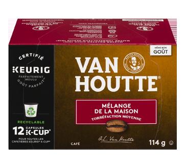 K-Cup capsules de café mélange de la maison, 12 unités, mi-noir