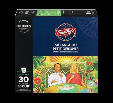 K-Cup capsules de café mélange du petit déjeuner, 30 unités