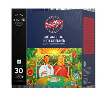 Image 2 du produit Timothy's - K-Cup capsules de café mélange du petit déjeuner, 30 unités