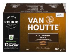 Image du produit Van Houtte - K-Cup capsules de café colombien, 12 unités, noir