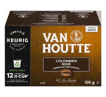 K-Cup capsules de café colombien, 12 unités, noir
