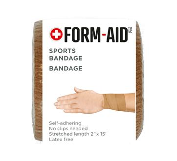 Bandage élastique auto-adhérent, 1 unité, longueur étirée : 5 cm x 4.6 m, beige