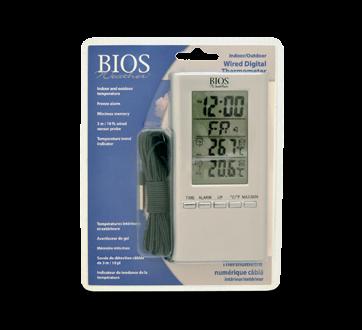 Thermomètre intérieur/extérieur, 1 unité
