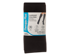 Image du produit Therapy Plus - Chaussettes de voyage compression, 2 paires, 9-11 noir