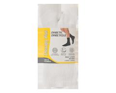 Image du produit Therapy Plus - Chaussettes pour diabétique court homme, 2 paires, 10-13 blanc