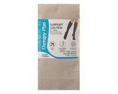 Image du produit Therapy Plus - Chaussettes de voyage compression, 2 paires, 9-11 tan