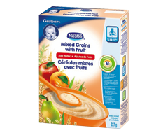 Image du produit Nestlé - Gerber céréales mixtes avec fruits, 227 g
