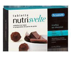 Image du produit Personnelle - Nutrisvelte tablettes substituts de repas, 6 x 390 g, truffes au chocolat